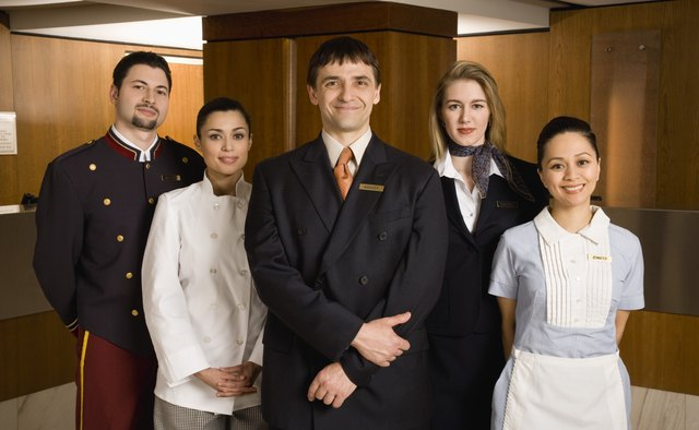 Numerous positions exist in hospitality and lodging management.