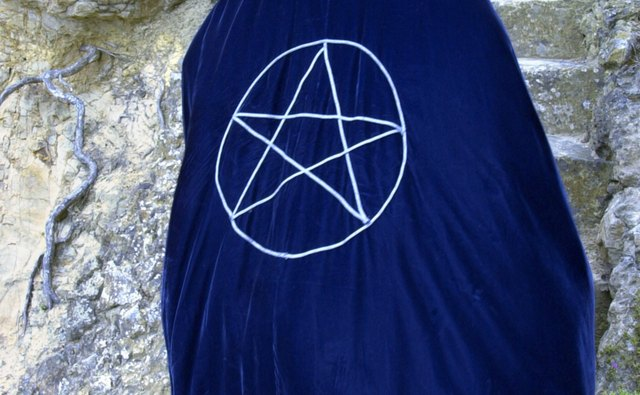 The pentagram represents the combination of all elements.