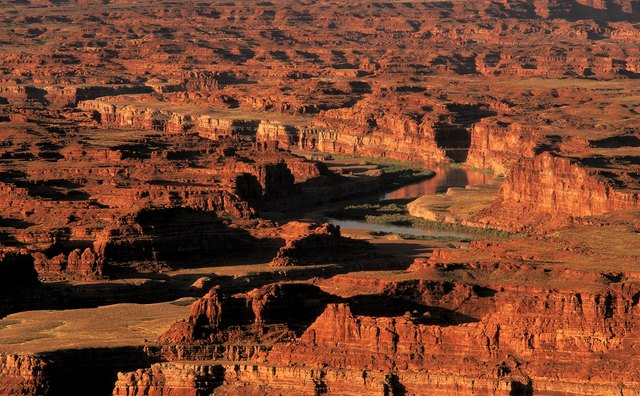 Weathering is very evident at the Grand Canyon, carved by the Colorado River.