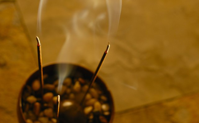 Incense is a popular way to represent air on the altar, and the different scents can carry different symbolic meanings.