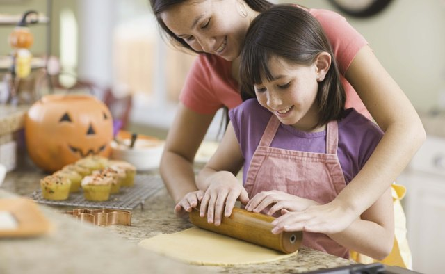 Help your child bake some gluten-free cookies.