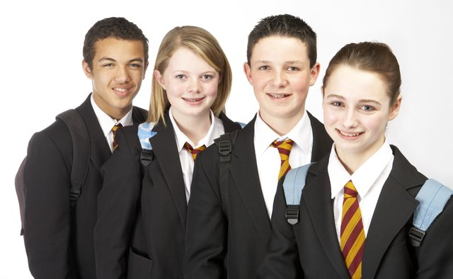 In schools where each student is required to wear a school uniform, there tends to be a minimal amount of distraction that is commonly present in schools without a uniform policy.
