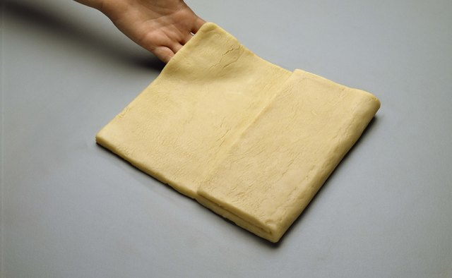 Allow puff pastry sheets to defrost before unfolding them.