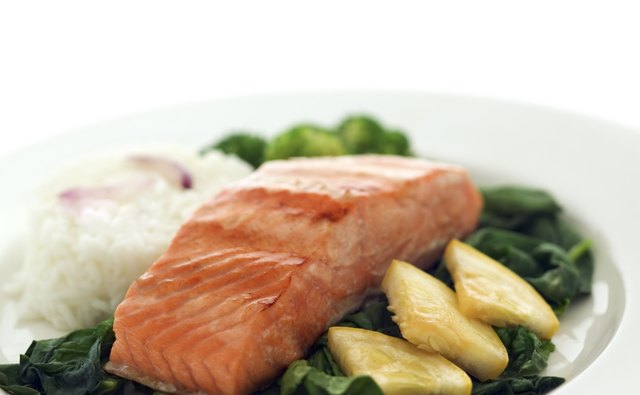Salmon is loaded with Omega-3 fatty acids.