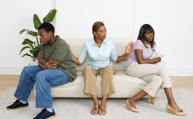 Family mediators work to settle conflicts during divorces.