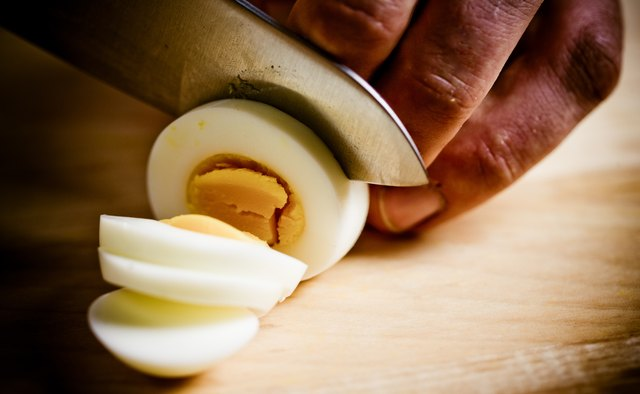 Hard-boiled eggs give you a nice dose of protein.