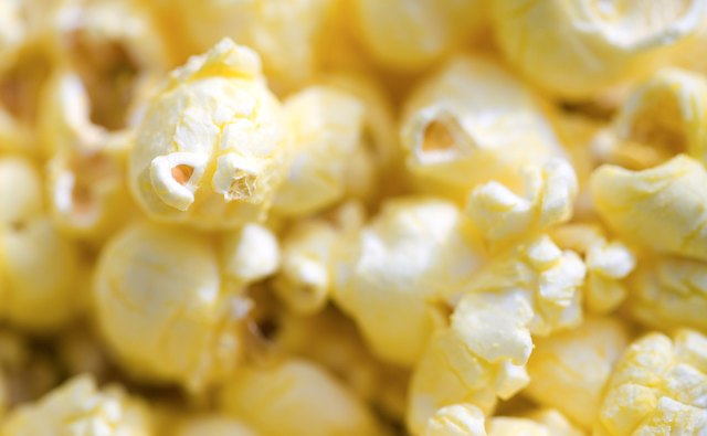 Pop some popcorn at home for a gluten-free treat.