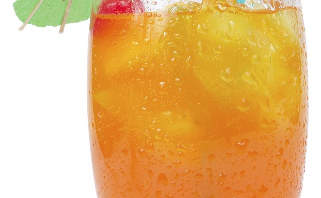 A sweet, fruity drink can contain a substantial amount of alcohol.