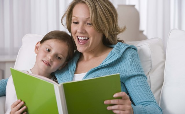 Reading books to children helps to model writing skills, such as correct sentence construction..