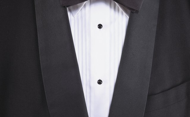 Black tie is classic and doesn't need to be creative.