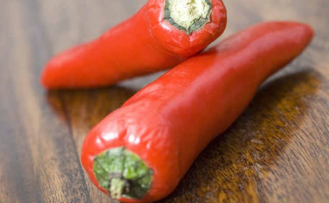Red pepper pairs well with collards.