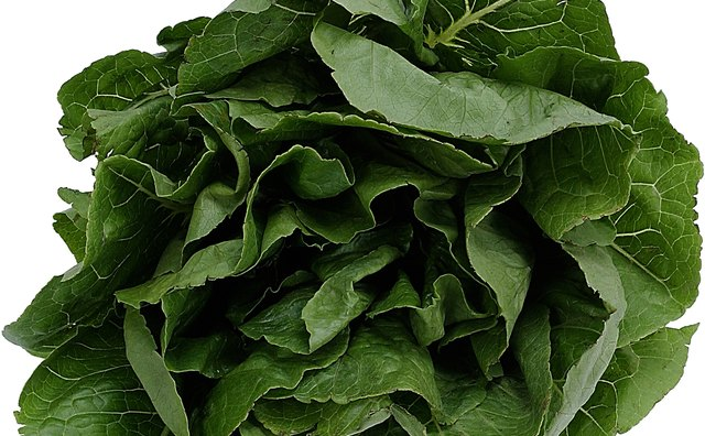 Spinach is loaded with iron and folate.