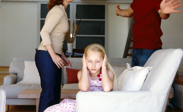 Parental conflict can negatively influence psychological development.