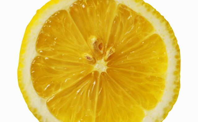 Baking soda will also neutralize and cause bubbling with lemon juice.