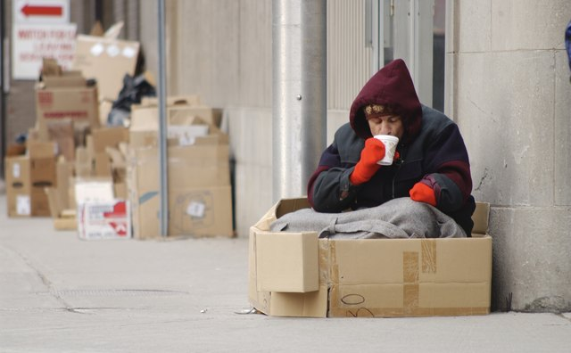 Case managers may work with homeless patients.