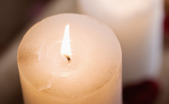Candles, representing the element of fire, are one of the most common items on Wiccan altars.