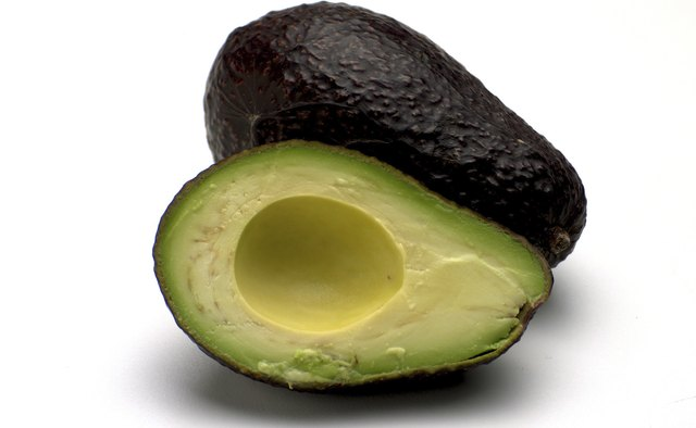 The nutritious avocado is a delicious afternoon snack.