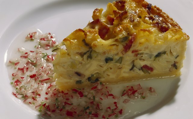 Even a typically high-fat food like quiche can be turned into a healthier option.
