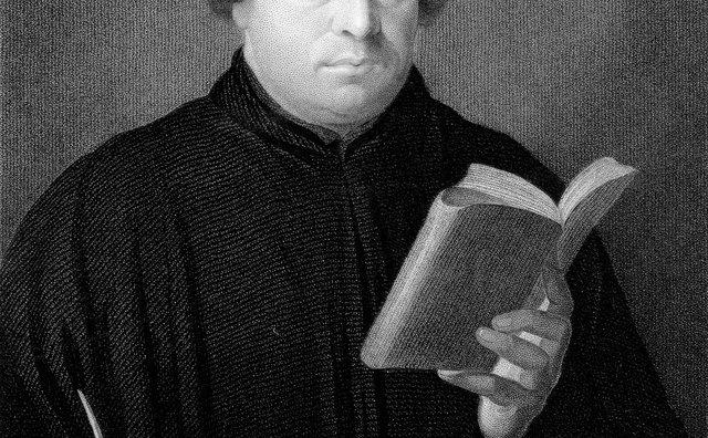 Luther encouraged people to learn to read the Bible for themselves.