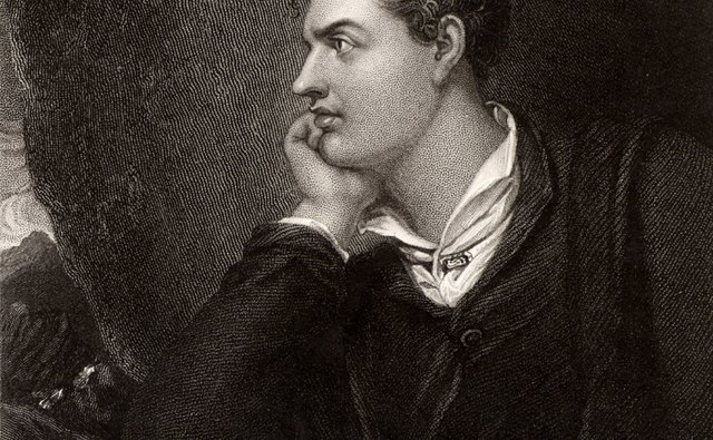 Lord Byron depicted darkness as necessary to poetic imagination.