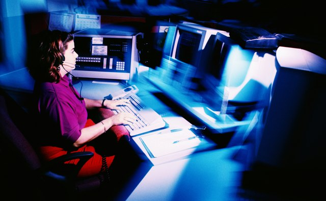 Some dispatch centers have employees work a full 24-hour day.