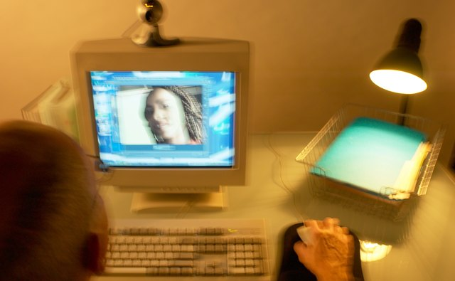 Video chat can provide comfort to a deployed soldier.
