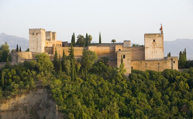 The Alhambra is situated in Granada, Spain.