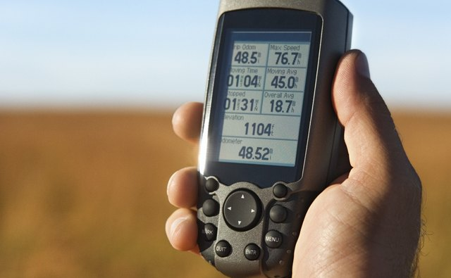 Basic GPS receivers offer only location information.