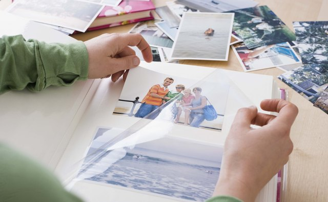 Use family pictures to create a personalized gift.