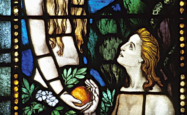 The Bible teaches that Adam and Eve were expelled from paradise for eating a forbidden fruit.