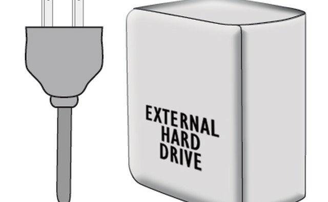 how to connect external network hard drive to phone