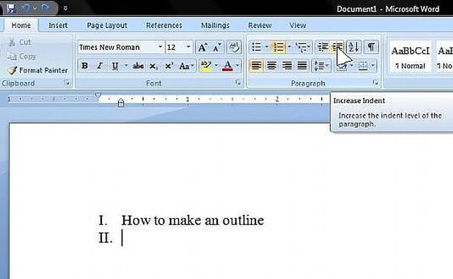 How To Create An Mla Outline In Microsoft Word   It Still