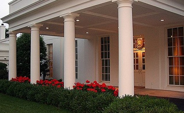 West Wing Portico