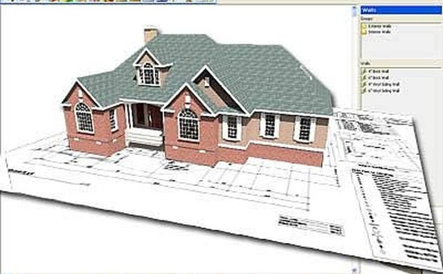 How to draw my own building plans it still works for Draw 3d house plans online