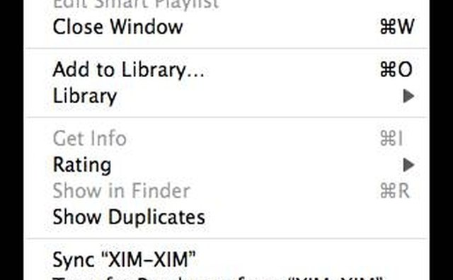 Showing Duplicates in iTunes