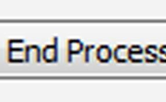 The End Process Button