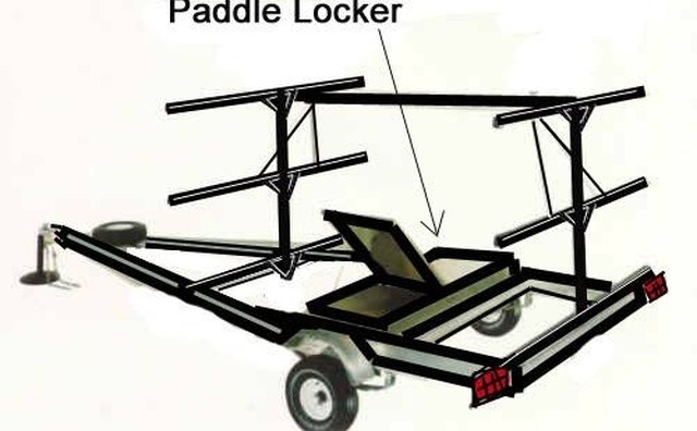 Paddle locker placement