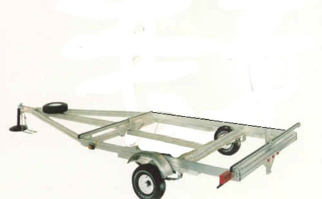 Strip the Trailer Down to the Basic Frame and Lights.