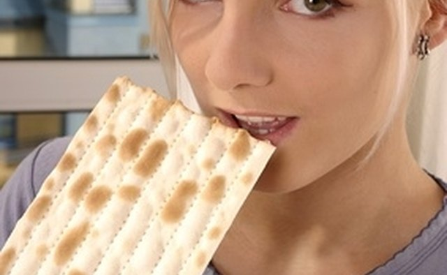 Matzo is eaten in place of bread.