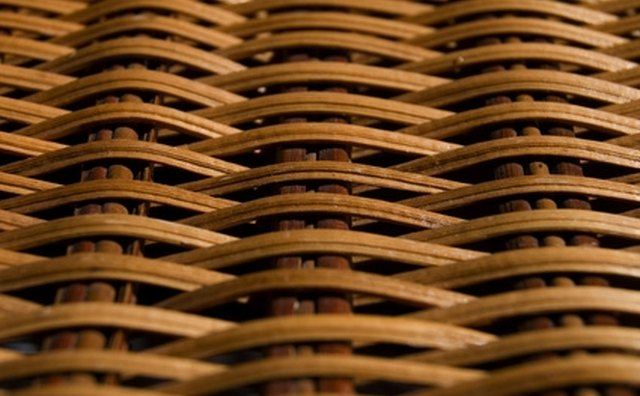 Shoshone willow baskets are sturdy and utilitarian.