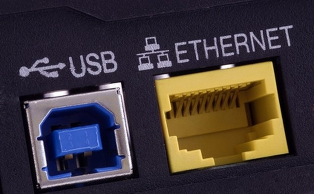 Think of the Ethernet port as a conduit.