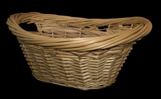 Attractive gift baskets come in many sizes, colors and shapes.