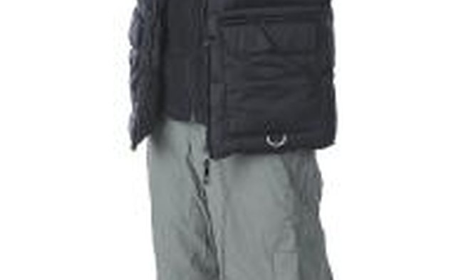 Down jackets are a great option in cold weather where rain or snow is not present.