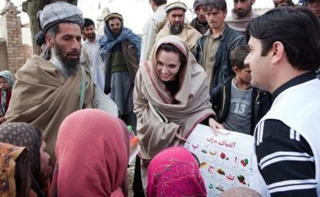 Angelina Jolie plays an active role in protecting the rights of children.