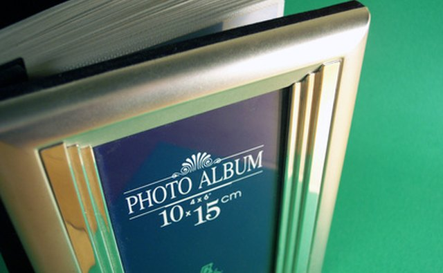 A photo album can help remind your ex of the good times you had together.