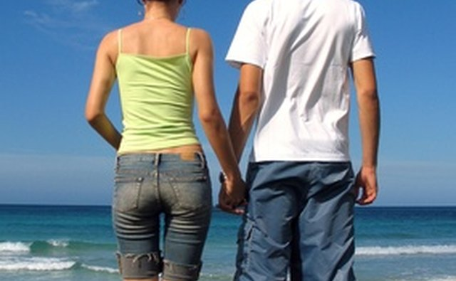 Walking to a nearby beach or park is a romantic activity for couples.
