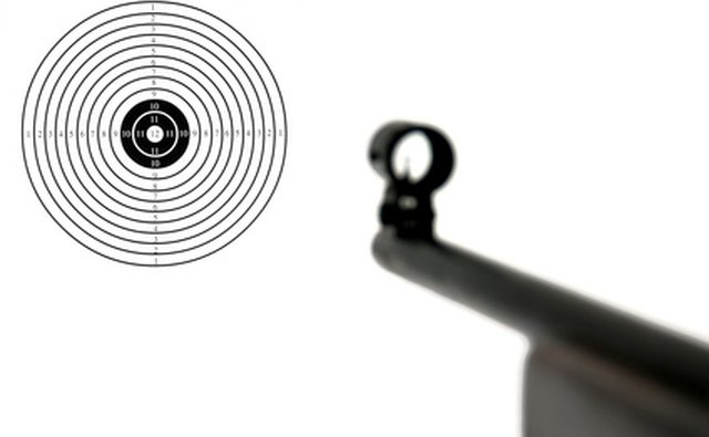 A manufactured target can be attached to the backstop.
