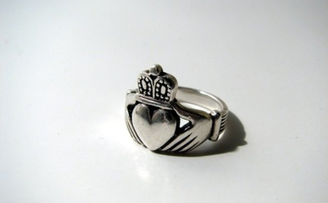 The claddagh is a traditional Irish ring of friendship and loyalty.