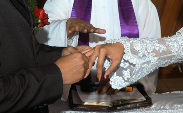 Eastern Orthodox Christians wear their wedding rings on the right hand.