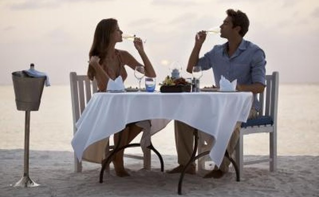 Consider going out for a romantic dinner.
